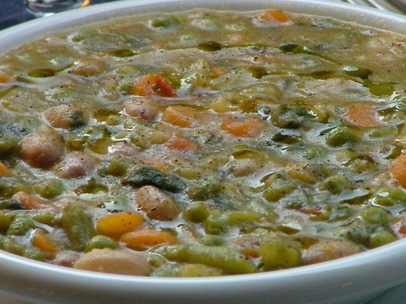 Zuppe di verdure o di carne